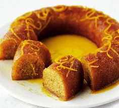 The citrus syrup makes for a wonderfully moist cake - great for afternoon tea or a dinner-party dessert