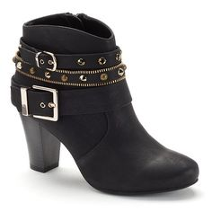 Jennifer Lopez Women's High Heel Ankle Boots