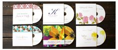 Perfect for Birthdays, Weddings, Baby Showers and more! Custom CD favor!