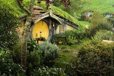 Nueva Zelanda.Hobbiton en Matamata. (El Señor de los anillos)