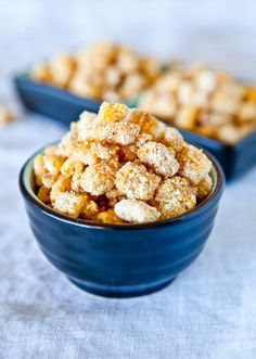 captain crunchies----->a snack made with cap'n crunch cereal