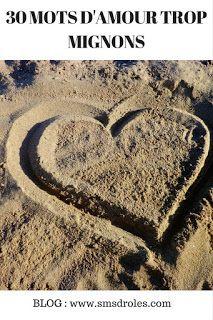 SMS d'amour et Messages drôles : 30 petits mots d'amour trop romantiques Msg D Amour, Messages Spirituels, Vicks Vaporub, Horoscope, Affirmations, Smileys, Bae, Heart, Inspiration