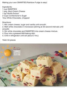 Crunchie Recipes, Fudge Recipes, Sweets Recipes, Candy Recipes, Baking Recipes, Different Recipes, Other Recipes, South African Desserts, Kos