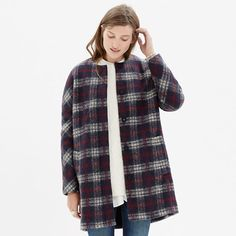 Style Stealer: Plaid Estate Coat