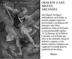 Rezar la oración a San Miguel Arcángel