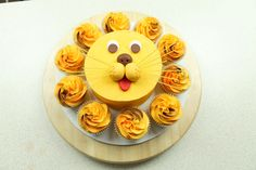 Little Lion Smash Cake