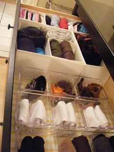{OrganizedHome} Day 14: Sock Drawer 101 (a.k.a.How to Fold your Scivvies)