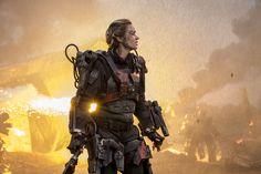 Emily Blunt as Reeta Vrataski in Edge of Tomorrow.