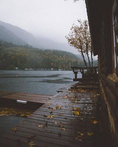 Find images and videos about nature, autumn and fall on We Heart It - the app to get lost in what you love. Cozy Rainy Day, Rainy Days, Fall Inspiration, Haus Am See, Autumn Cozy, Autumn Fall, Autumn Aesthetic, To Infinity And Beyond, Photos