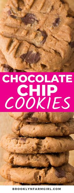 Take your peanut butter cookies up a notch with these Chunky Chocolate Chip Peanut Butter Cookies. So chewy and chocolatey, these easy cookies come together easily and are incredibly delicious! Basic Butter Cookies Recipe, Peanut Butter Cookies, Chocolate Chip Cookies, Soft Baked Cookies, Crispy Cookies, Sandwich Cookies, Original Recipe, Cookie Recipes, Favorite Recipes