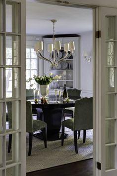 BHDM Design | Ruhlmann Six Light Chandelier | Holiday decor | shop now: http://www.circalighting.com/search_results.aspx?q=ruhlmann%20six
