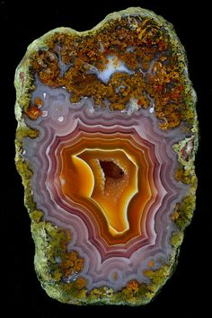 Beauty exists where only the eye of God can see it, multiplied millions of times over inside the rocks of our earth-Steve Prelgovisk. Agua Neuva Agate