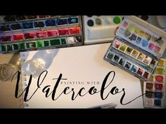 How to use Watercolors - A Beginners Guide - YouTube