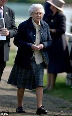 Her Majesty Queen Elizabeth II at the Royal Windsor Horse Show. May 14, 2014...