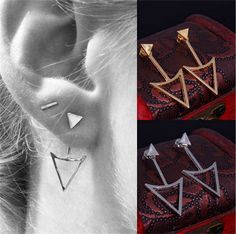 Cheap earring organizers, Buy Quality earring wire directly from China earrings filigree Suppliers: New Arrival Women Triangle Earrings Punk Jewelry Stud Earrings for Women PY005USD 1.99/pair2015 New Simple Crystal Stars