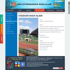 "MBSA page "" Stadium Shah Alam"""