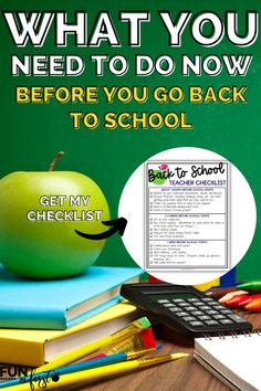 Get organized, prepared, and ready for a great school year when you follow my back to school plan! I'm not only sharing tips, but also a timeline, so you aren't frantic trying to get your classroom ready for that first day of school! Read this blog post to learn more about what you should do BEFORE the first day of school!