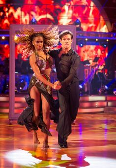 SCD Final 2016. Danny Mac & Oti Mabuse. Showdance.