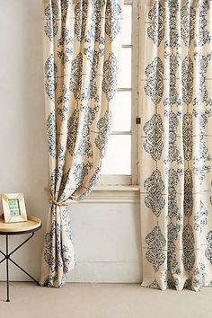 Anthropologie - Embroidered Medina Curtain for bedroom