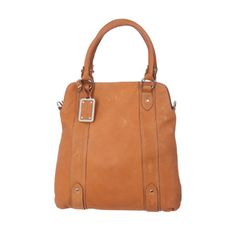 James Lakeland Brown Leather Shopper Bag