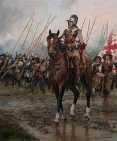 Oficial. Ejército español. Siglo XVII.// Officer. Spanish Army, 17th Century.