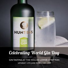 To celebrate #WorldGinDay The Hollies Farm Shop at Lower Stretton has gin tasting on Saturday 13th June 11-3