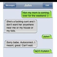HAHA!!  Blame it on the autocorrect! ;)