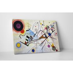 Wassily Kandinsky 'Composition Viii' Gallery-wrapped Canvas Wall Art