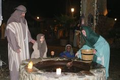 Savannah Christian Church - The Journey -Villagers at the well in Bethlehem.