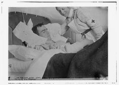 Wm. Robinson, Royal Scots Grays in Canadian Hospital, Le Touquet -- (Private Wm. Robinson) (LOC) by The Library of Congress, via Flickr