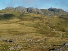 Crinkle crags & Bow Fell