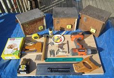 What you need to build a Bumble Bee house.