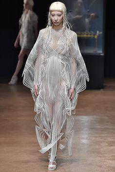The Dreamiest Dresses at Paris Haute Couture Week - Iris Van Herpen from InStyle.com