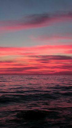 Free photo Sunset Sun Evening Sky Red Sky Free Image on Pretty Sky, Beautiful Sunset, Beautiful World, Beautiful Places, Beautiful Pictures, Pink Sunset, Pink Sky, Ocean Sunset, Pink Ocean