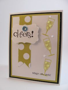 this card will make you want to clink a glass of bubbly use happy new year cardsxmas