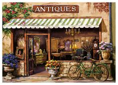 Antique Shop by Sung Kim