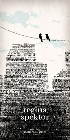 Regina Spektor Poster by *NaylaSmith on deviantART
