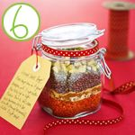 Edible Homemade Gifts in a Jar
