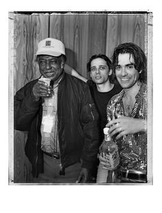 The Jon Spencer Blues Explosion - Blues Festival, Byron Bay, Australia (2 April 1999) - R.L. Burnside / Judah Bauer / Jon Spencer.