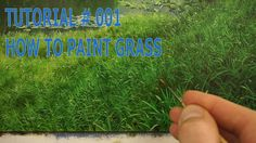 Tutorial #001 - How to Paint Grass with Michael James Smith