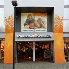 Sterke gevelpresentatie van Schuurman Schoenen
