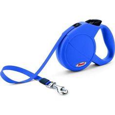 Guia Retrátil Flexi Classic Compact 1 Azul - Cães até 15kg #petmeupet #guia #flexi #cachorro