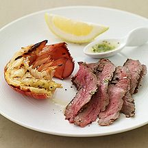 Surf and Turf WWP 7 Garlic-butter sauce is also great over steamed or grilled vegtables