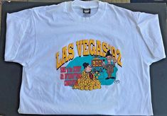 Laurel and Hardy Las Vegas Sons of the Desert 8th Convention T-Shirt 1992 XL