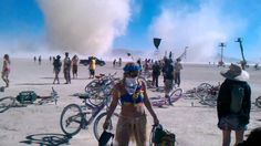 Burning Man 2010 - Temple dust storm / twister - YouTube