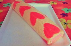 Szíves piskótatekercs - Süss Velem Receptek Plastic Cutting Board, Valentin Nap, Valentines, Love, Valentine's Day Diy, Valentines Day, Valentine's Day