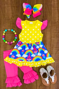 Shop cute kids clothes and accessories at Sparkle In Pink! With our variety of kids dresses, mommy + me clothes, and complete kids outfits, your child is going to love Sparkle In Pink! Kids Outfits Girls, Cute Outfits For Kids, Toddler Outfits, Cute Kids, Girl Outfits, Little Girl Fashion, Toddler Fashion, Kids Fashion, Cute Baby Girl