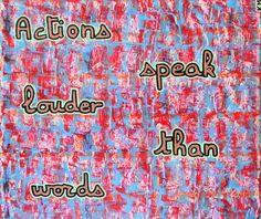 PA 48_ Les actions en disent plus que les mots  -  Karim Merzougui (artiste peintre) – Google+