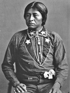 Hautushnehay - Pinaleno Apache - 1876༺ ♠ ༻*ŦƶȠ*༺ ♠ ༻