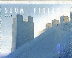 Sello: Kemi Snow Castle (Finlandia) (Snow Art) Mi:FI 1816,Sn:FI 1272b,Yt:FI 1782,AFA:FI 1806,WAD:FI045.06